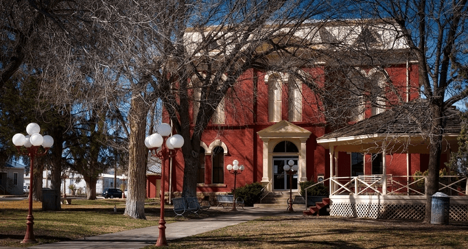 Texas-Red-Community-Building